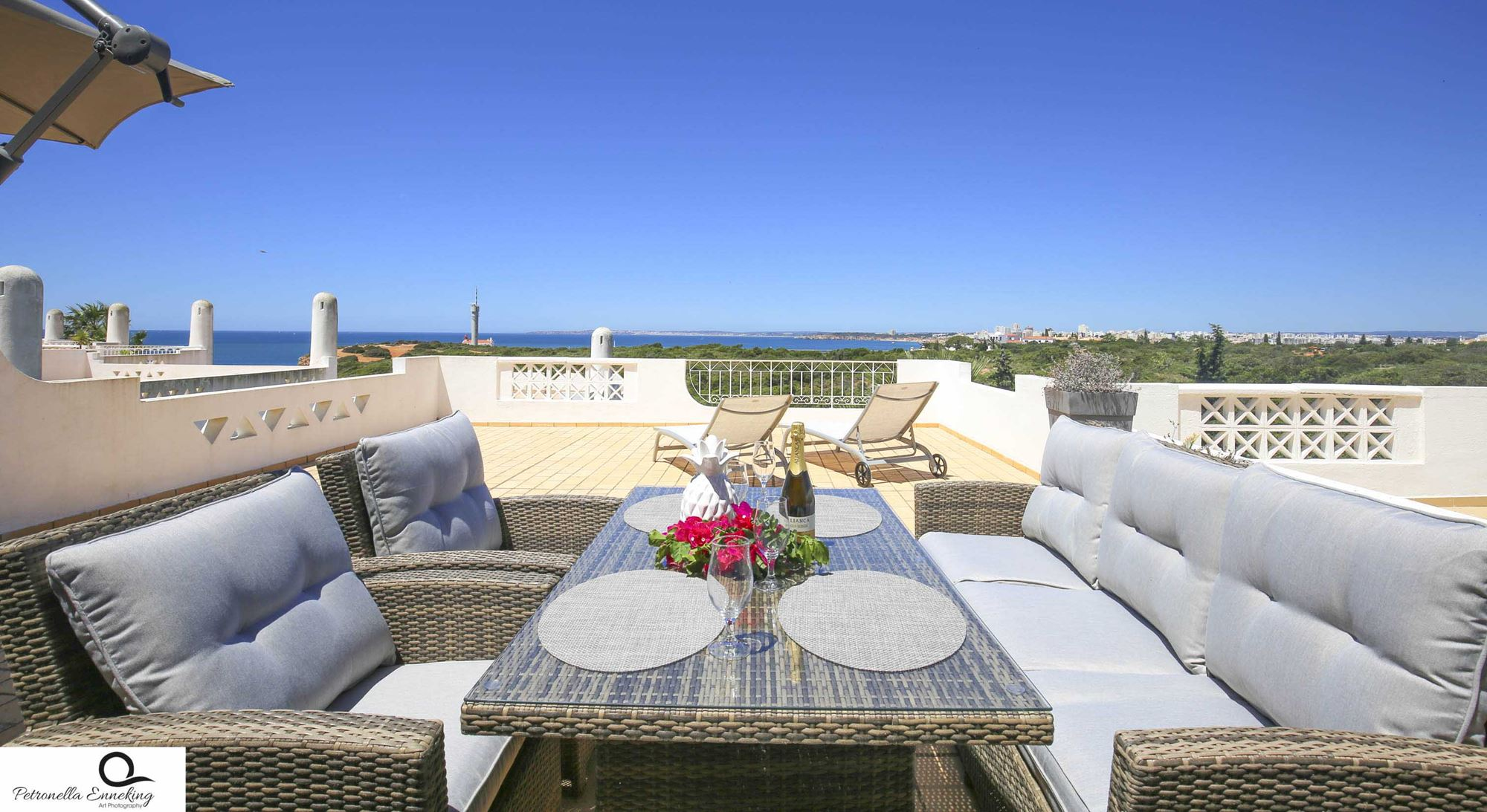 Vila Gaivotta T1 Sea view Algarve-Balcony- Enneking Premium Rentals