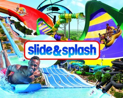 Things to do western Algarve-slide splash-Enneking Premium Rentals